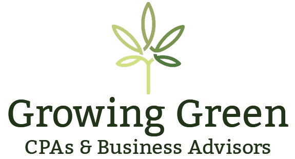 Growing Green CPAs & Business Advisors Logo